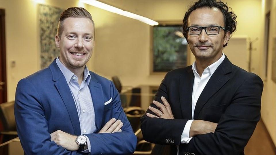 FlixBus Kurucu Ortağı ve Üst Yöneticisi (CEO) Andre Schwammlein (Solda),Kamil Koç Genel Müdürü Kadir Boysan (Sağda)