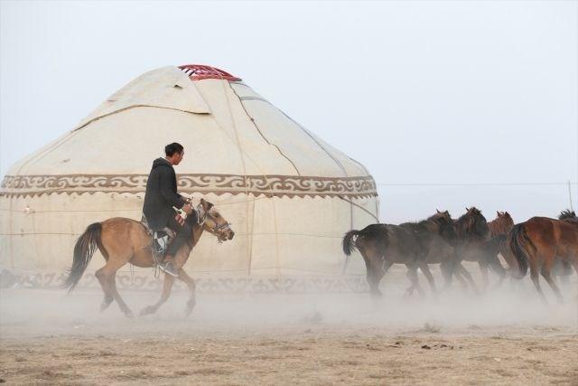 Kırgız Türkleri Geleneklerini Yozgatta Yaşatıyor 1 Ntv