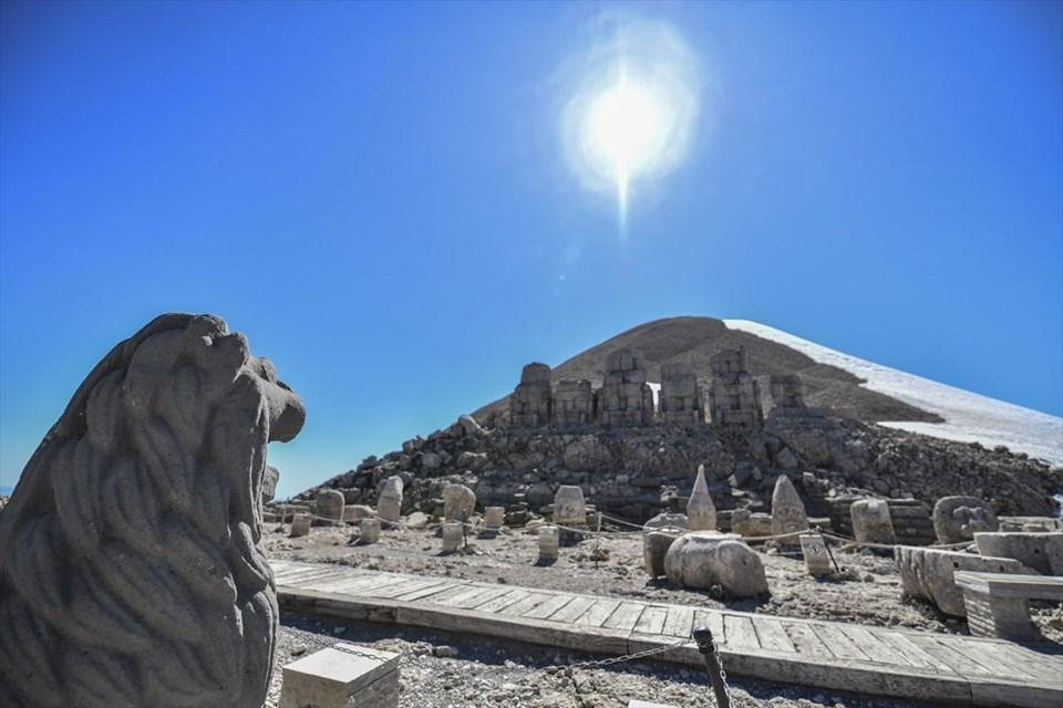 Nemrut, Nemrut heykelleri, Nemrut Dağı Milli Parkı, Kommagene krallığı