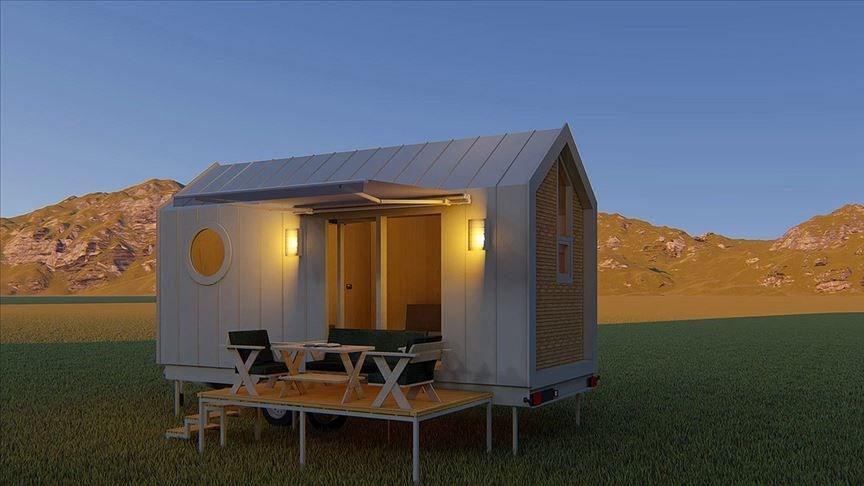 küçük ev, tiny house, saly karavan, casa lokomotif