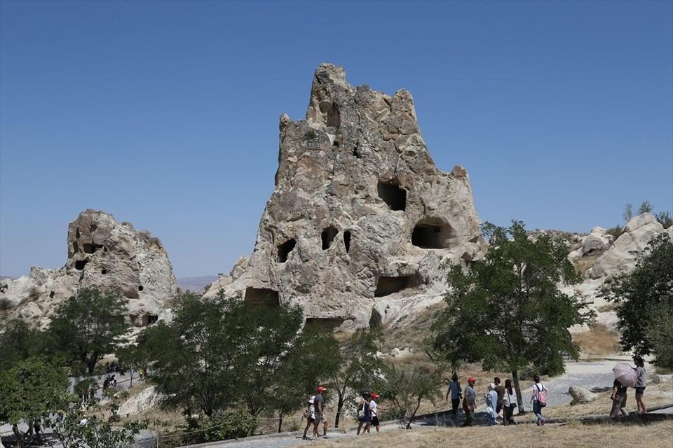 göreme milli parkı, kapadokya, kapadokya gezilecek yerler, göreme, unesco