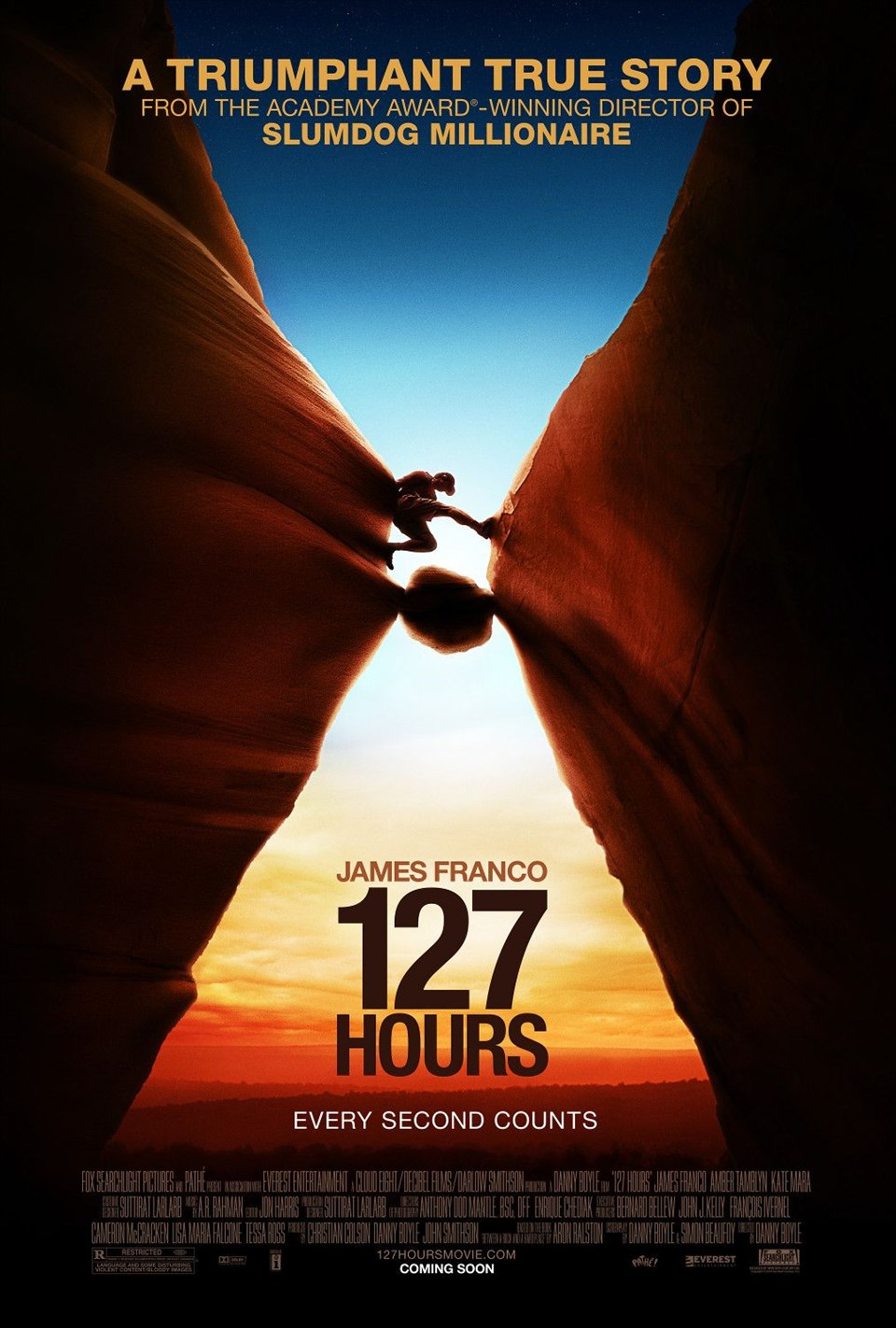 en iyi dağcılık filmleri, en güzel dağcılık filmleri, tırmanış filmleri, 127 hours