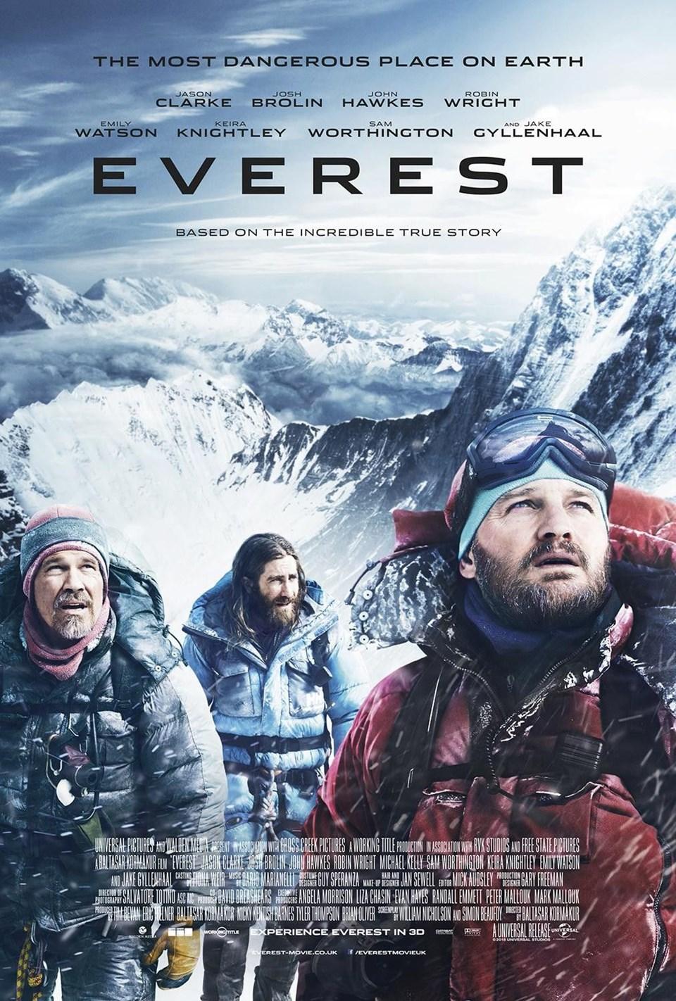 en iyi dağcılık filmleri, en güzel dağcılık filmleri, tırmanış filmleri, everest 2015