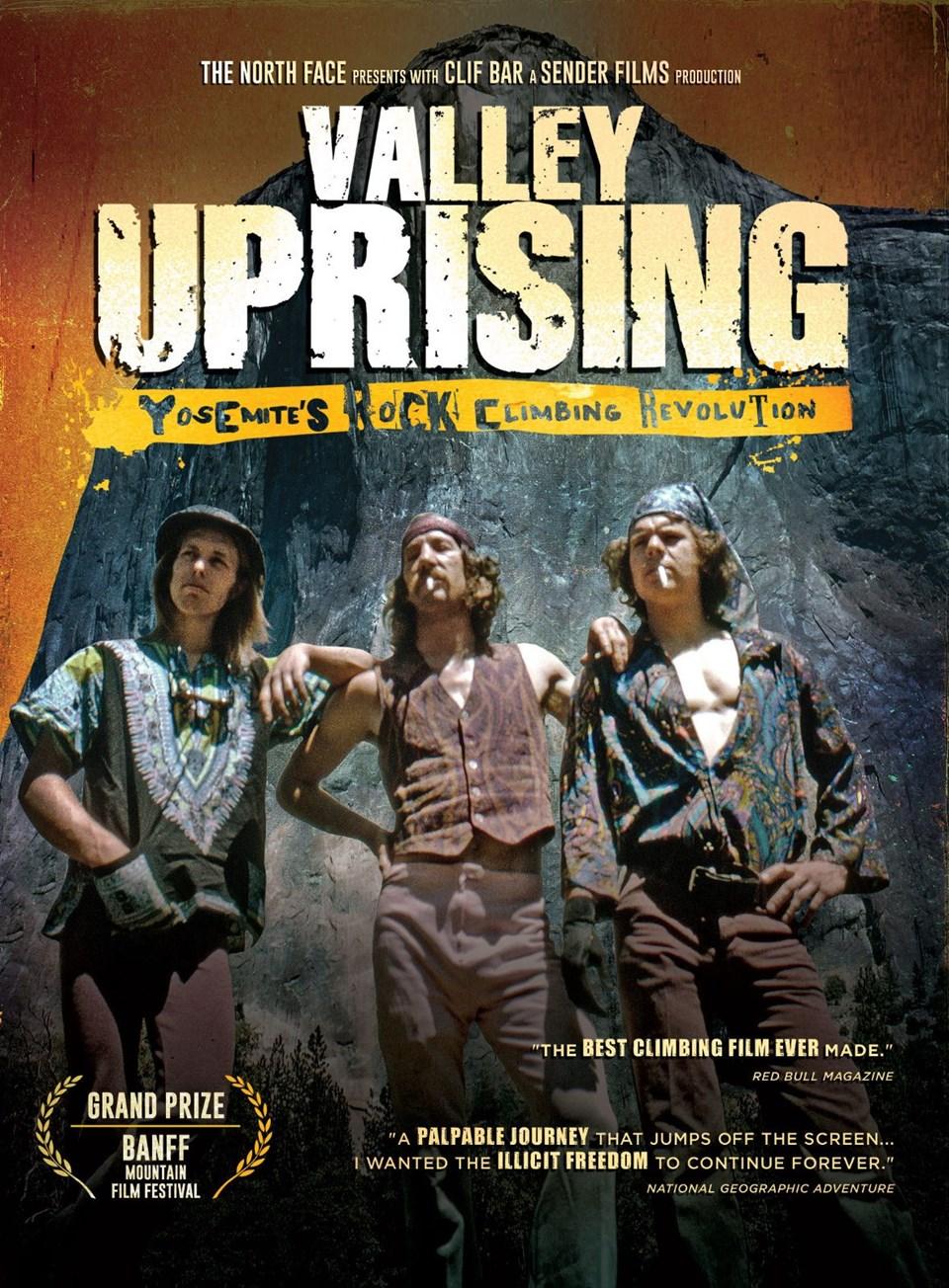 en iyi dağcılık filmleri, en güzel dağcılık filmleri, tırmanış filmleri, valley uprising