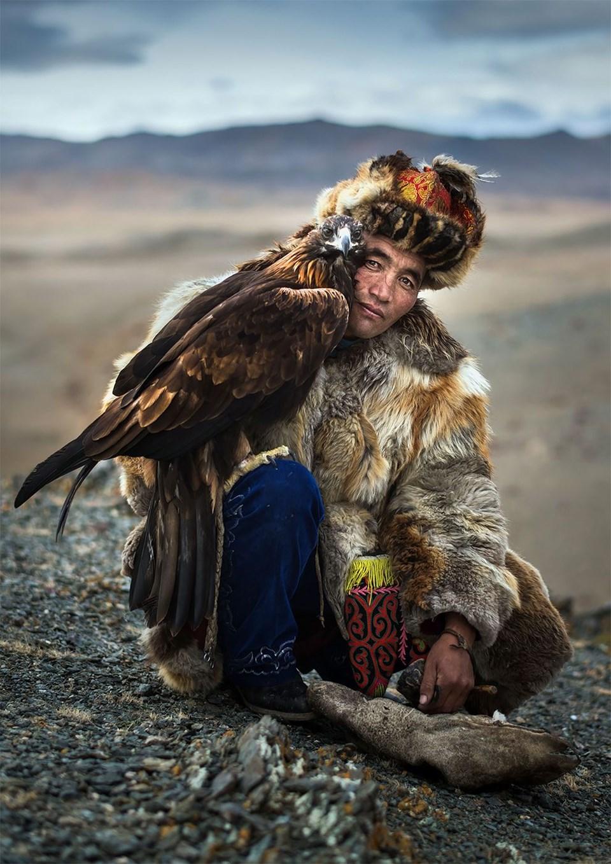 göçebe kartal avcıları, avcı kartallar, altın kartal festivali, moğolistan kartal avcılığı