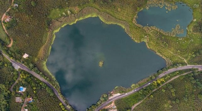 ordu gezilecek yerler, gaga gölü