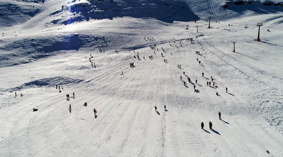 beyazdan maviye, saklıkent kayak merkezi, kış triatlonu