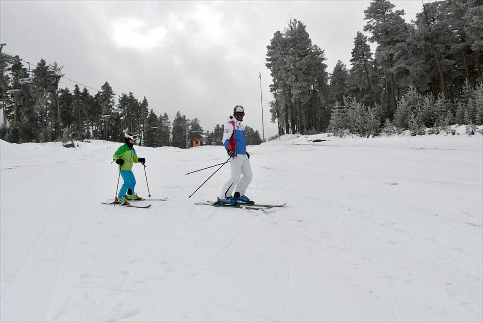sarıkamış, cıbıltepe kayak merkezi, kars kayak, kayak sezonu ilk kayak