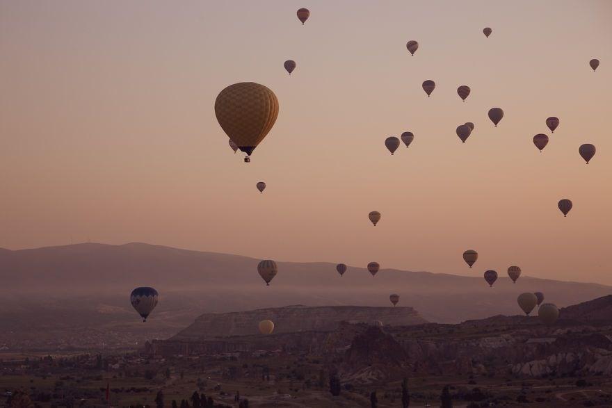 kapadokya balon turu, kapadokya balon turu yorumları, sıcak hava balonu, Kapadokya'da ne yapılır, anywhere we roam