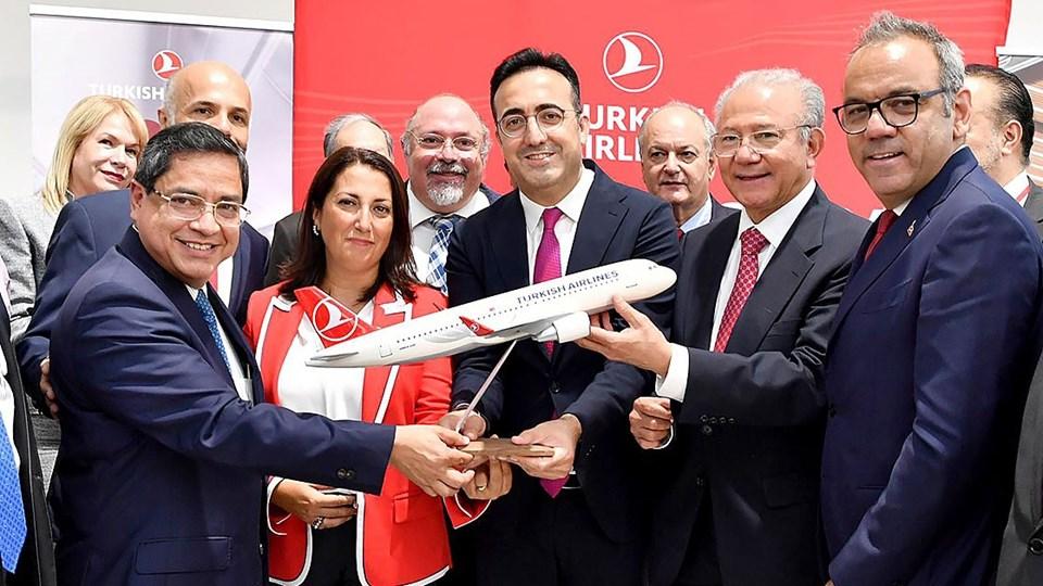 Mexico City ve Cancun'a çarşamba, cuma ve pazar günleri yapılacak uçuşlar, gelecek haftadan itibaren 'rüya uçak' olarak bilinen Boeing 787-9 Dreamliner ile gerçekleştirilecek.