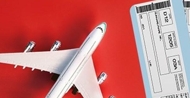 Uçak biletinde 450 liralık tavan fiyata geçildi
