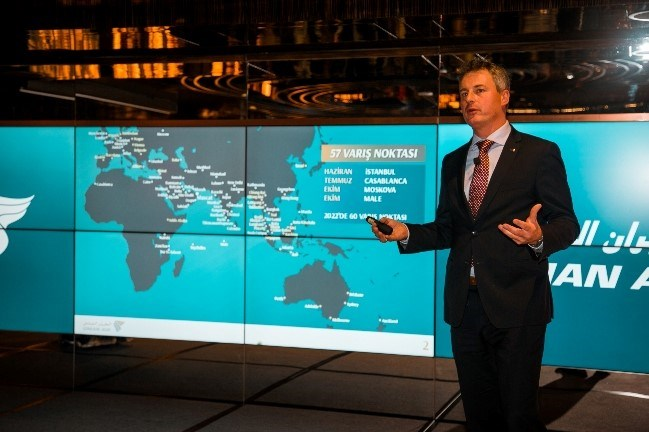 Oman Air Avrupa Bölge Müdürü Rogier de Jager