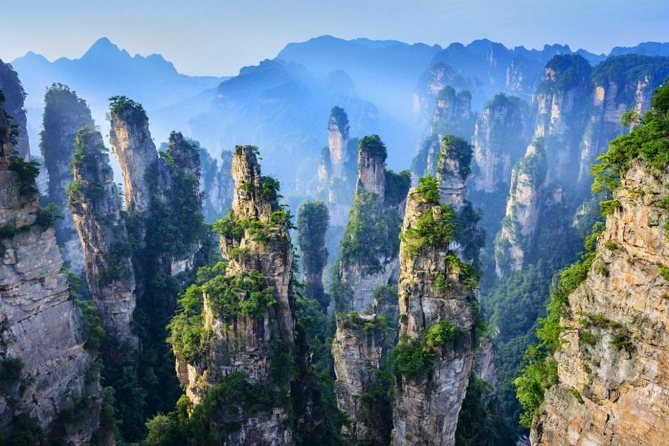 Çin,Çin Wulingyuan,Dünyanın en ilginç kanyonları,Duplantier,En ilginç kanyonlar,Kanyon,Martin Duplantier,Sıradışı yürüyüş,Sıradışı yürüyüş rotaları,Unesco Dünya Mirası Listesi,Wulingyuan,Wulingyuan Kanyonu