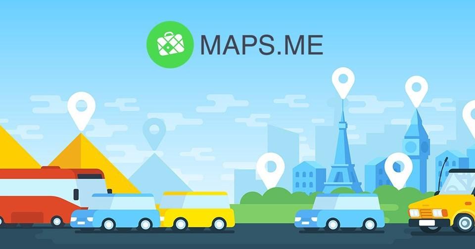 en iyi seyahat uygulamaları, mobil seyahat uygulamaları, gezi aplikasyonu, maps.me
