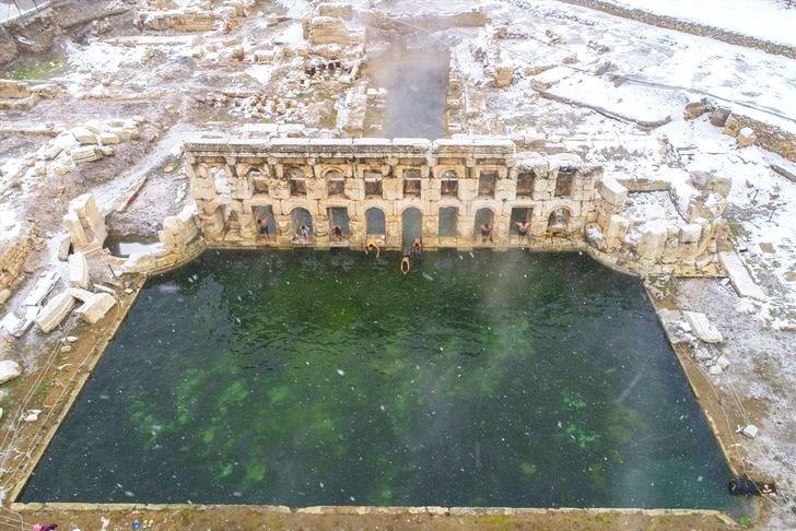 yozgat, kral kızı, basilica therma roma hamamı, sarıkaya, yozgat termal, yozgat tarihi hamam, roma hamamları, tarihi hamamlar