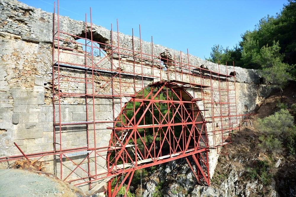 Troya'nın 3 bin 500 yıllık su kemeri restore ediliyor - 6