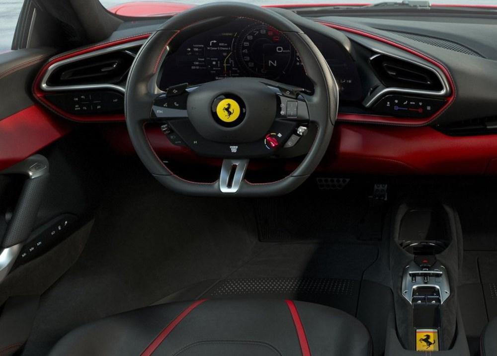 830 beygirlik hibrit Ferrari 296 GTB tanıtıldı - 13