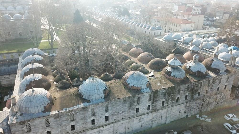 Vakıflar Genel Müdürlüğü: Süleymaniye Külliyesi'nde restorasyon emin ellerde devam ediyor - 11