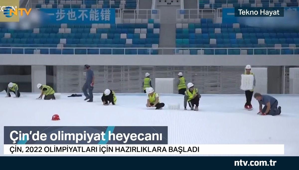 Çin'de olimpiyat heyecanı (Tekno Hayat)