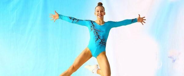 Jimnastiğin genç yeteneği Ayşe Begüm Onbaşı yeni birincilikler için çalışıyor