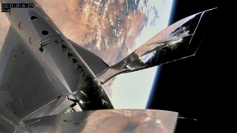 Virgin Galactic ikinci uçuş testini başarıyla tamamladı - 5