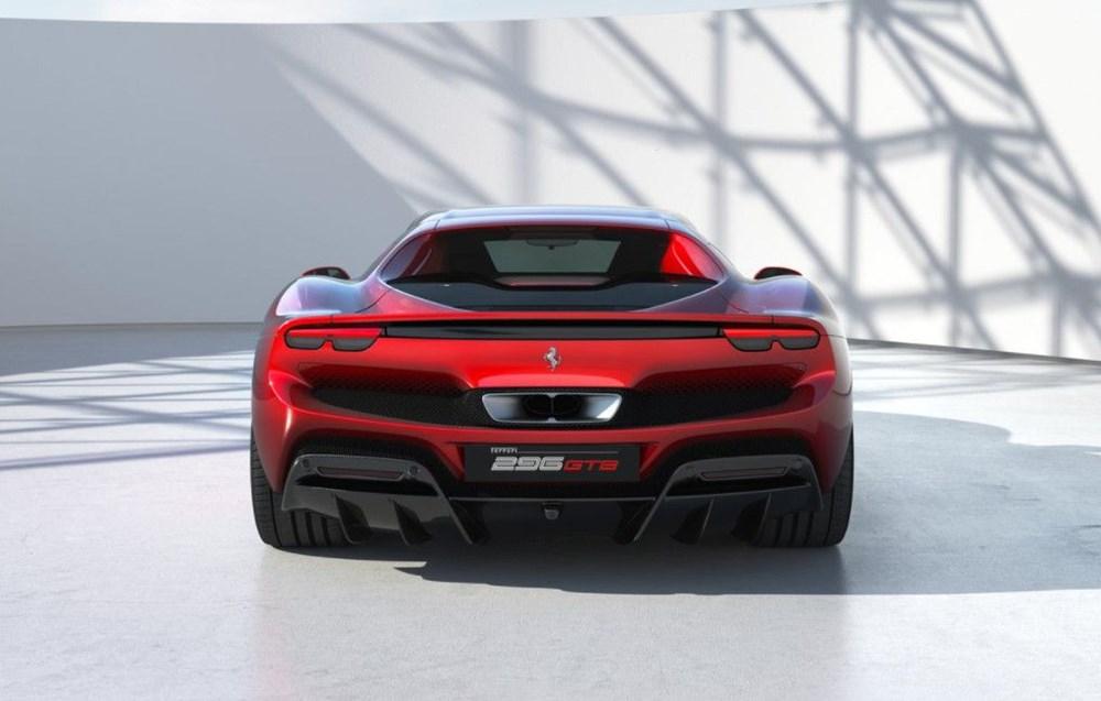830 beygirlik hibrit Ferrari 296 GTB tanıtıldı - 9