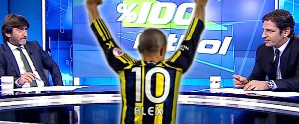 % 100 Futbol'un konuğu Alex