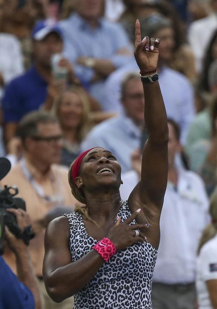 ABD Açık'ta zafer Serena'nın
