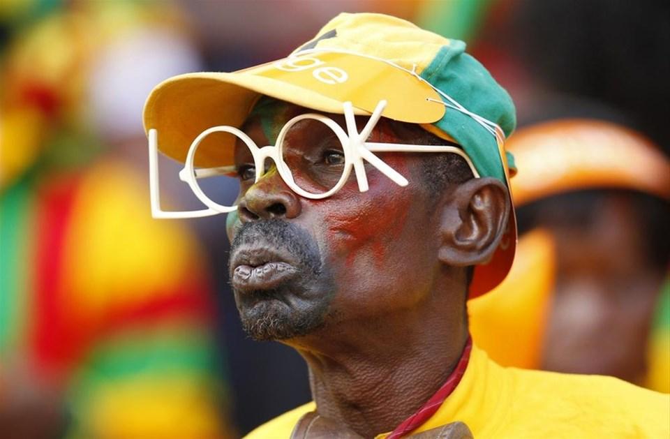 Afrika'nın tüm renkleri tribünlerde