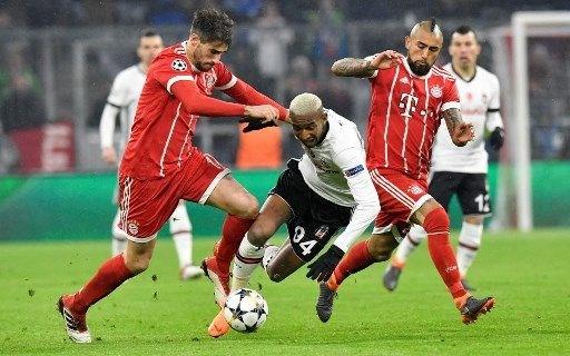 Bayern Münih, Beşiktaş, maç