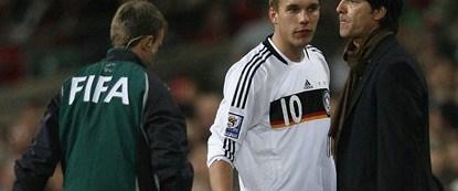 Almanya'da futbolun gündemi Podolski