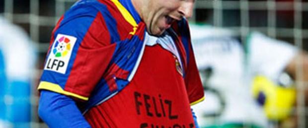Anneye sürpriz Messi'ye pahalıya patladı