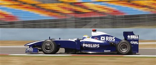 Antrenmanlarda Rosberg rüzgarı