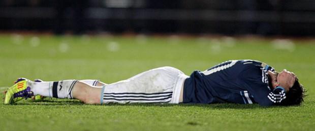 Arjantin'i deviren Uruguay yarı finalde