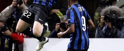 Avantaj golü Milito'dan