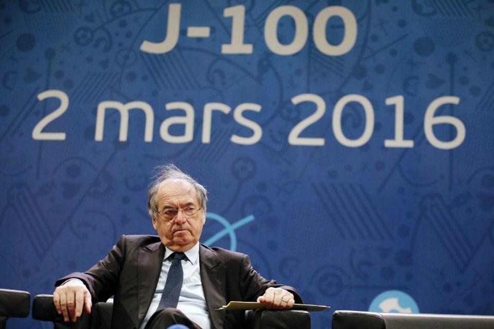 Fransa Futbol Federasyonu Başkanı Noel Le Graet