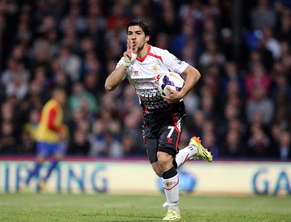 5. Luis Suarez, Liverpool