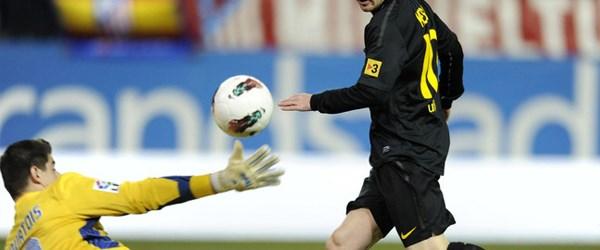 Barcelona: 2, A. Madrid: 1
