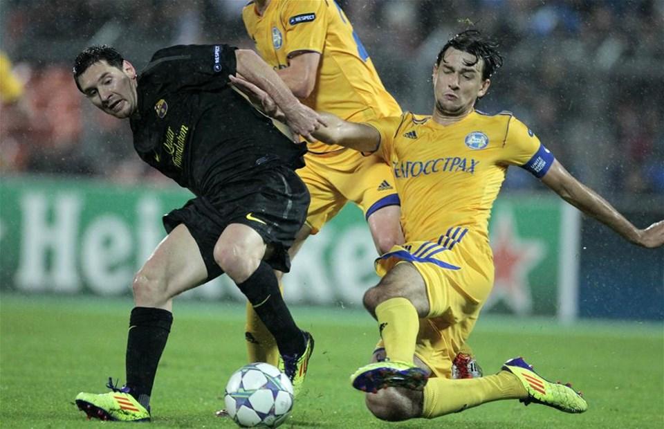 Barcelona deplasmanda gol yağdırdı