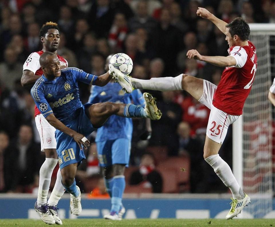 Arsenal - Marsilya: 0 - 0