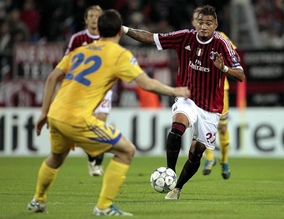 BATE - Milan ( 1 - 1 )