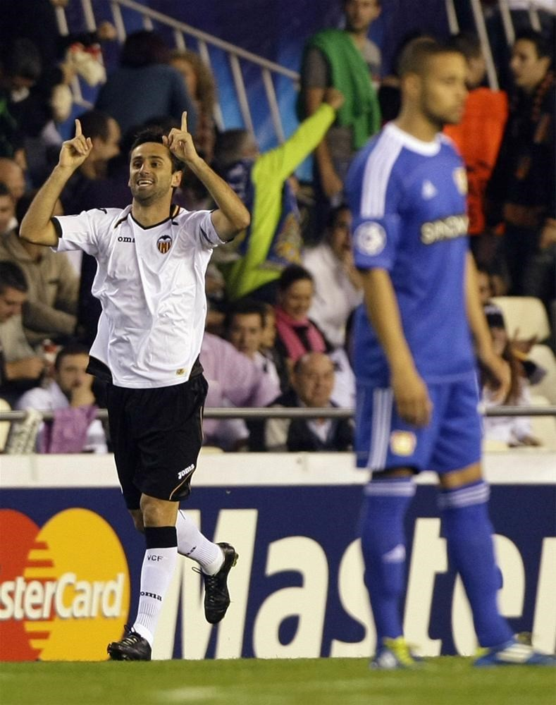 Valencia - Bayer Leverkusen: 3 - 1