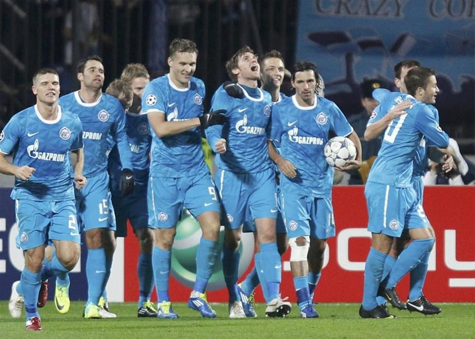 Zenit - Shakhtar Donetsk: 1 - 0