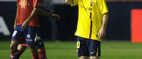 Barcelona şaştı kaldı: 1-1
