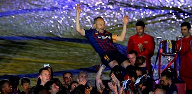 BarcelonaIniesta'yı galibiyetle uğurladı