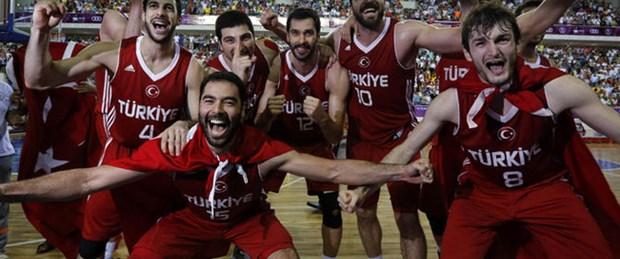 Basketbolda altın madalya