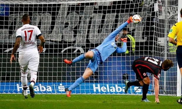 Eintracht Frankfurt: 2 - Bayer Leverkusen: 1 (Maç sona erdi) 20