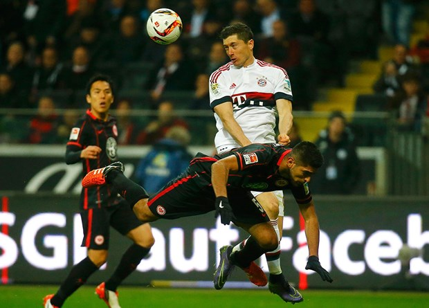 Eintracht Frankfurt: 2 - Bayer Leverkusen: 1 (Maç sona erdi) 89