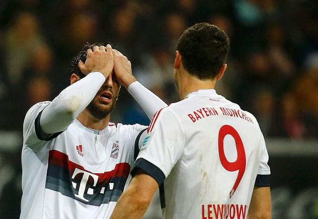 Eintracht Frankfurt: 2 - Bayer Leverkusen: 1 (Maç sona erdi) 75
