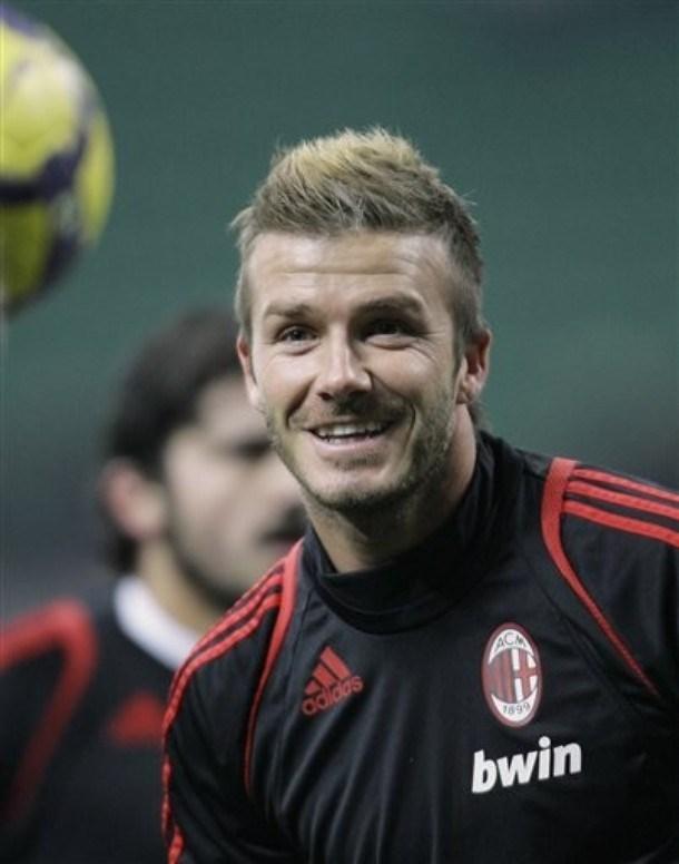 Beckham yeniden Milano'da